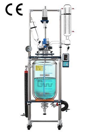 10L/20L/30L Glass Reactor with CE
